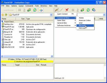 FlashFXP 3.3.4 build 1106 Beta