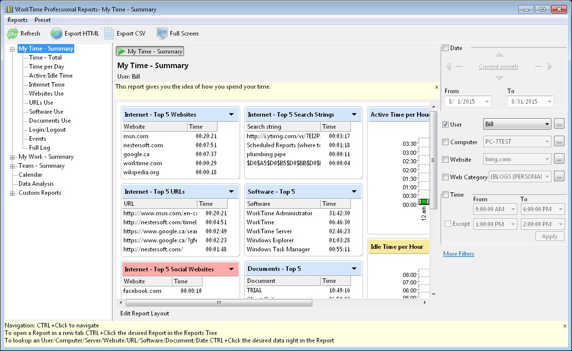 WatFile.com Download Free WorkTime Professional Free Download and Reviews - Fileforum