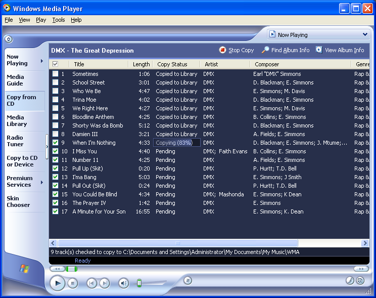 windows media player for windows 98me2000 free download