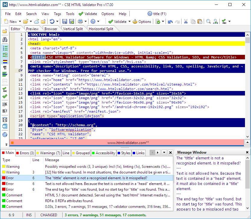 CSE HTML Validator 15.03