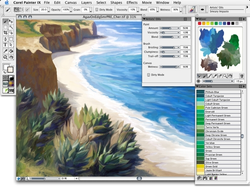 Corel Painter For Mac Os X Free Download And Reviews Fileforum