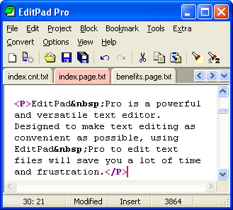 EditPad Pro for Windows