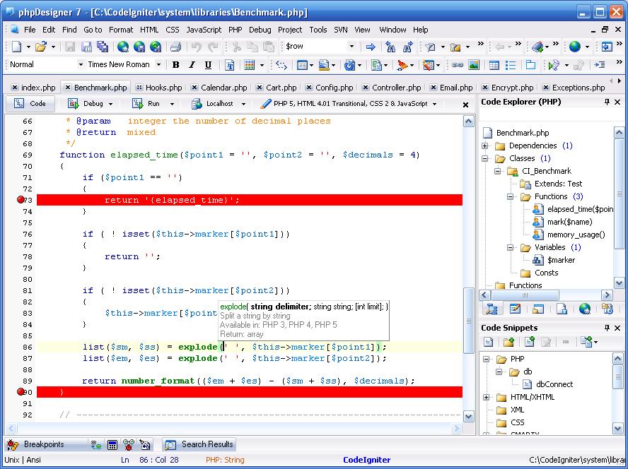 Скачать phpDesigner 7.1 с Letitbit. Вот сообственно сами программы.
